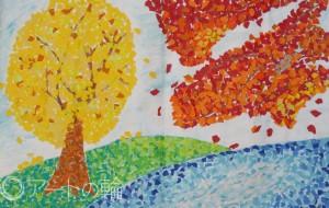 20-鶴ヶ島ゆめの園訓練1-大好きな風景 - 【イベント】鶴ヶ島市立中央図書館 「障がい者アート絵画展」