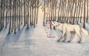 白銀のオオカミ - RINA