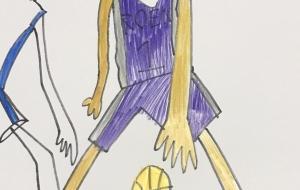バスケット選手 - 太一
