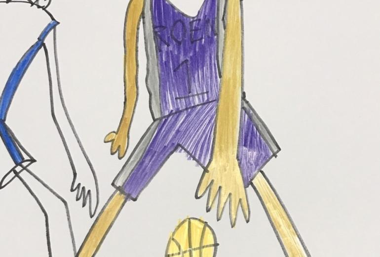 バスケット選手