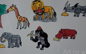 動物いっぱい - としき