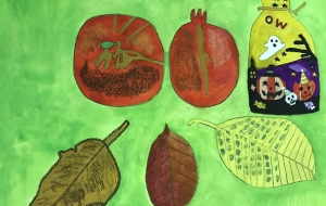 秋の風景 - (公財)日本チャリティ協会:パラアートスクール