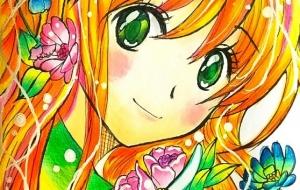 Flower girl - miho