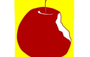食べかけのリンゴ - じじ