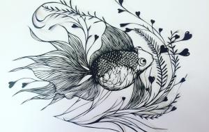 幸せを呼ぶ金魚 - jun