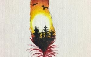夕日の羽根 - RINA