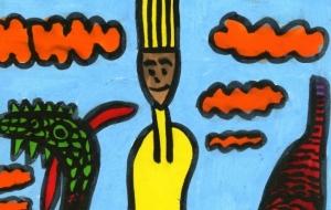 竜と人 - トモ・タカイのワンダフル ワールド アート展2017