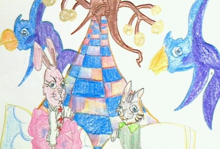 絵本の夢の世界