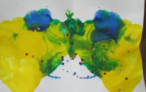 48_ナニニミエル?(村上奏音) - 【イベント】第2回鶴ヶ島市立中央図書館 「障がい者アート絵画展」2018