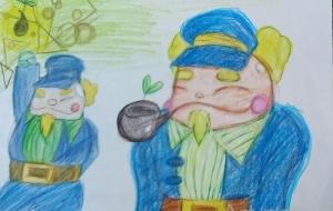 船員01.ホエール船長 - 風邪神-kazeshin-