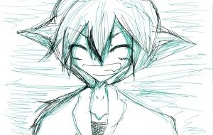 笑顔 - 風邪神-kazeshin-