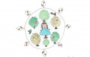 木の精たち - あんず