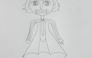 ブリキのキャラクター - じょぶー