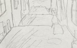 街並み - ワイルドサイレントウルフ
