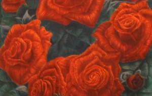 紅薔薇図 - 生出元治