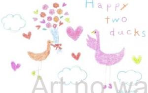 幸せな鳥たち - asami