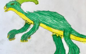 恐竜シリーズ(パラサウロロス) - ゆうき