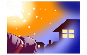 かぼちゃのフェアリィ 表紙 - 春雪魚