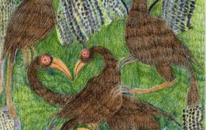 草原を生きぬく鳥たち - 青木剛