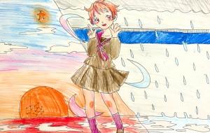 雨の日、晴れの日 - 五月ツツジ