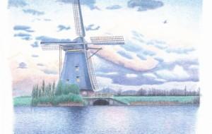 風車のある風景 - cocoa float