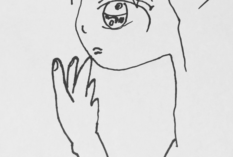 女の子横顔