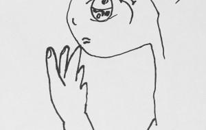 女の子横顔 - ワイルドサイレントウルフ