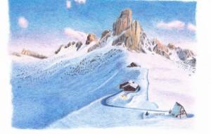雪山 - cocoa float