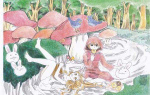 ある日、森の中 - 虎目梨那