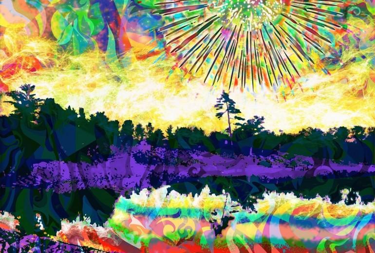The Black Fireworks