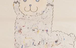 NO52 アルパカ_相原彰太 - 第3回鶴ヶ島市立中央図書館 「障がい者アート絵画展」2019