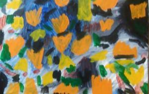 オレンジの花 - マサミ