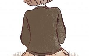 茶系の女の子 - はりがみ