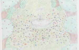 NO35 結菜の花畑_塚原双葉 - 第3回鶴ヶ島市立中央図書館 「障がい者アート絵画展」2019