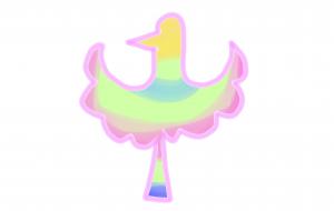 鳥のマーク - 西原永恵