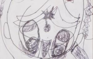 No31 オシャレさん_木村優花 - 第3回鶴ヶ島市立中央図書館 「障がい者アート絵画展」2019