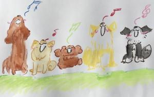 犬の合唱 - クルミ