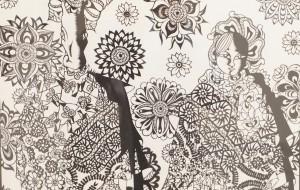 NO66 オシラサマ_小牧美穂 - 第3回鶴ヶ島市立中央図書館 「障がい者アート絵画展」2019