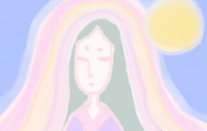 月の記憶に残る美女 - 西原永恵