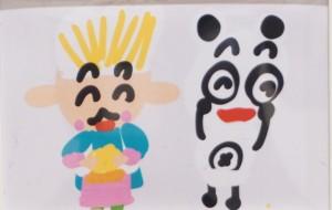 NO46 パンやさんとパンダさん_本田未和 - 第3回鶴ヶ島市立中央図書館 「障がい者アート絵画展」2019