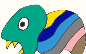 かいじゅう - ワイルドサイレントウルフ