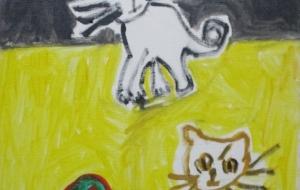猫ー空間の中 - マサミ