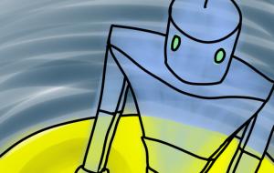 幽霊ロボットの月旅行 - 西原永恵