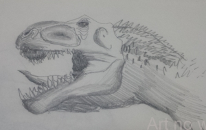 ギガノトサウルス - 田中豪