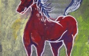 赤い馬 - Kise Okumura