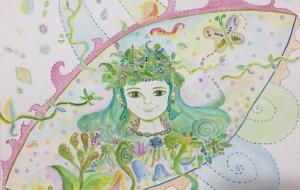 緑の妖精 - 河村扶示子