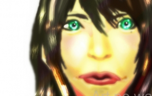 緑色の目をしたアヒル口の女2 - 道人