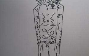 短ランを着た吉男。 - 神徳竜輝