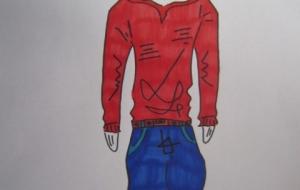 赤いパーカーを着た僕 - 神徳竜輝