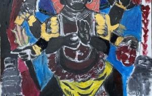 ネパールの神、シヴァ神の化身カーラ・バイラヴ - 大野貴士